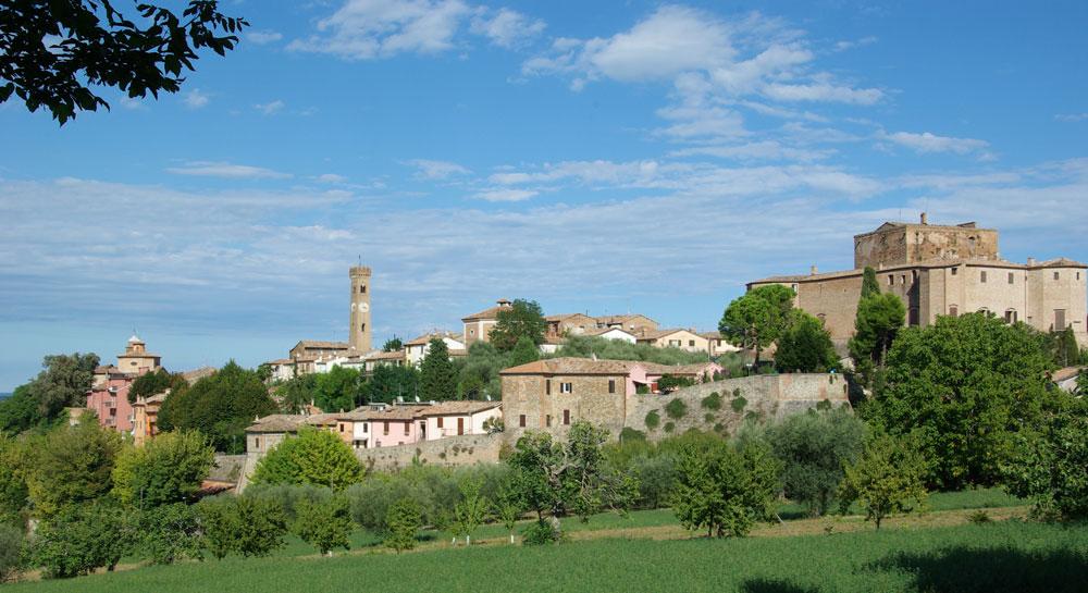 Panorama di Santarcangelo