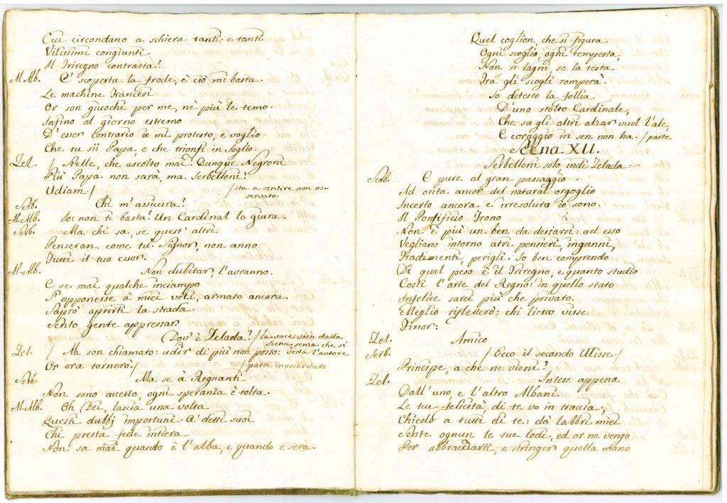 Il Conclave Dramma Satirico pag12 - 1776