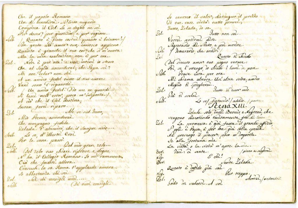 Il Conclave Dramma Satirico pag13 - 1776