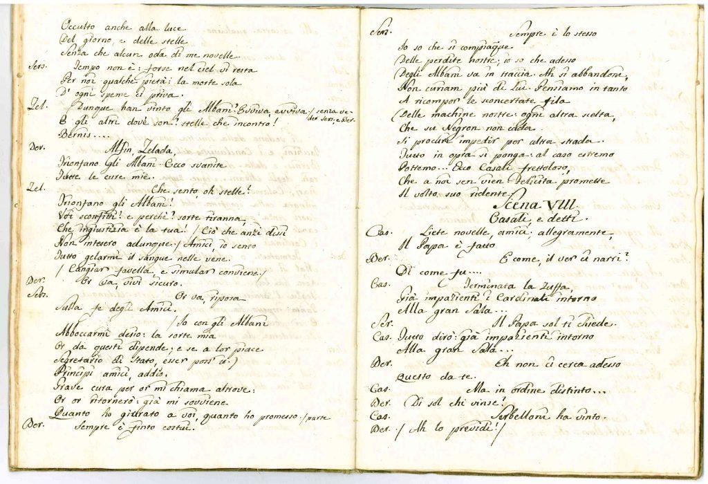Il Conclave Dramma Satirico pag20 - 1776