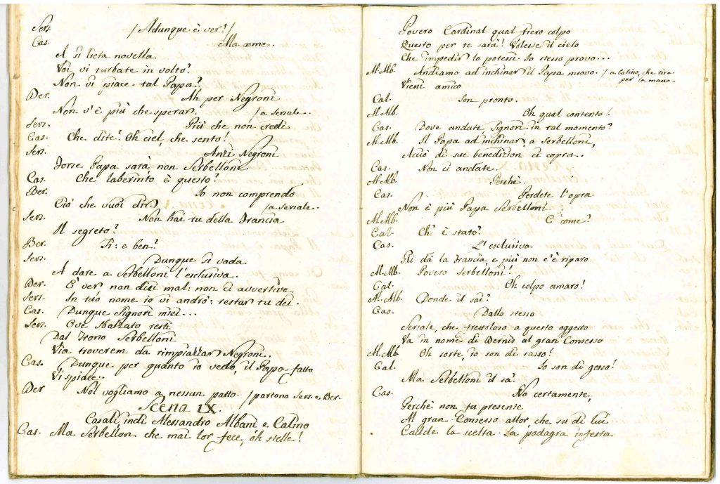 Il Conclave Dramma Satirico pag21 - 1776