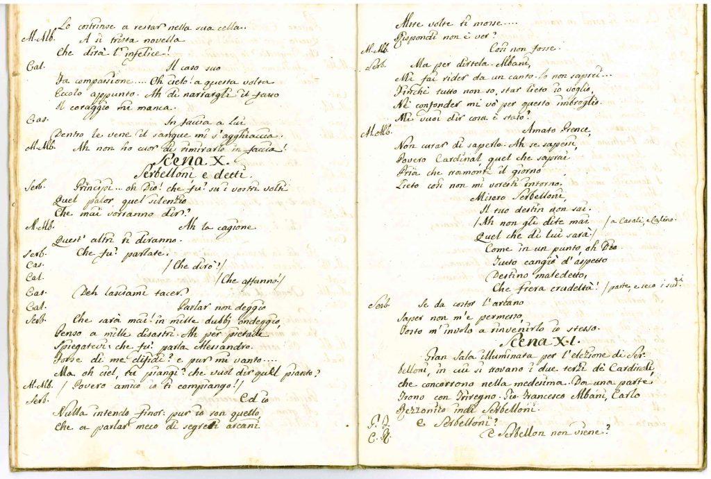 Il Conclave Dramma Satirico pag22 - 1776