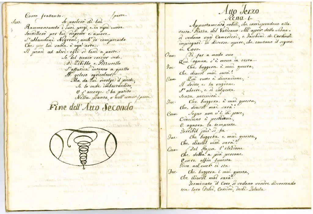 Il Conclave Dramma Satirico pag25 - 1776