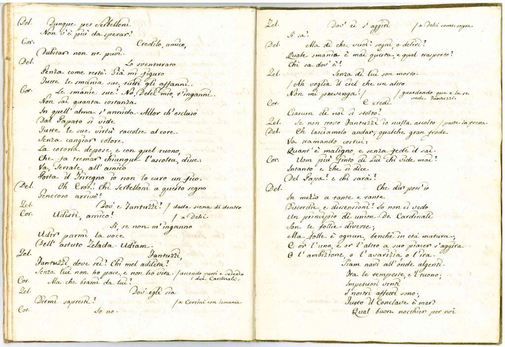 Il Conclave Dramma Satirico pag26 - 1776