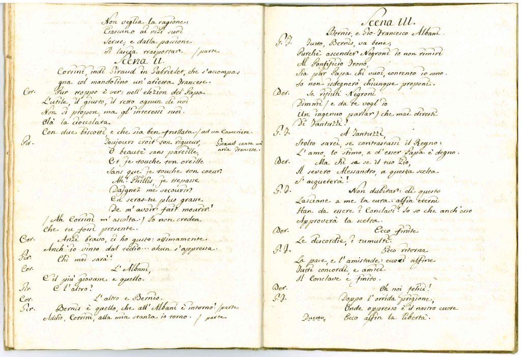 Il Conclave Dramma Satirico pag27 - 1776