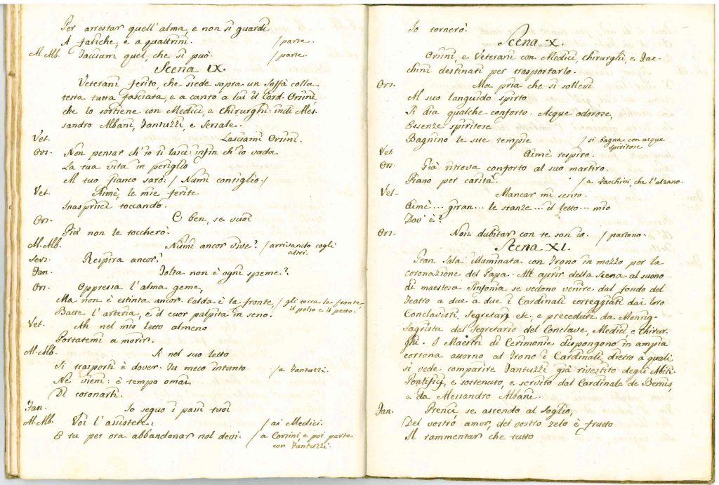 Il Conclave Dramma Satirico pag32 - 1776
