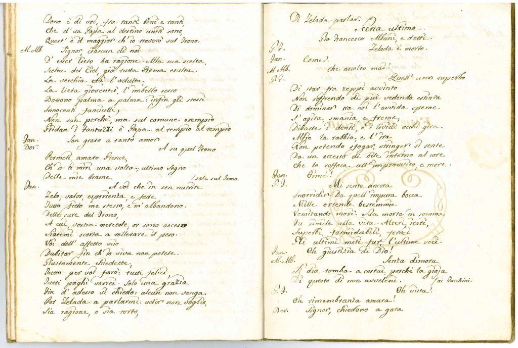 Il Conclave Dramma Satirico pag33 - 1776