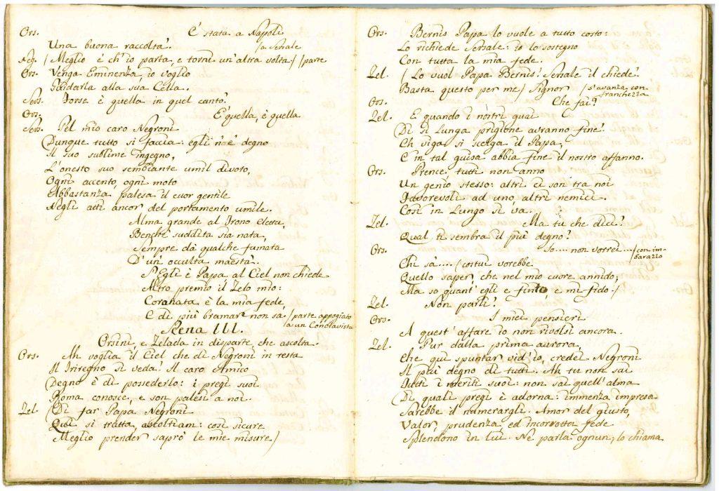 Il Conclave Dramma Satirico pag5 - 1776