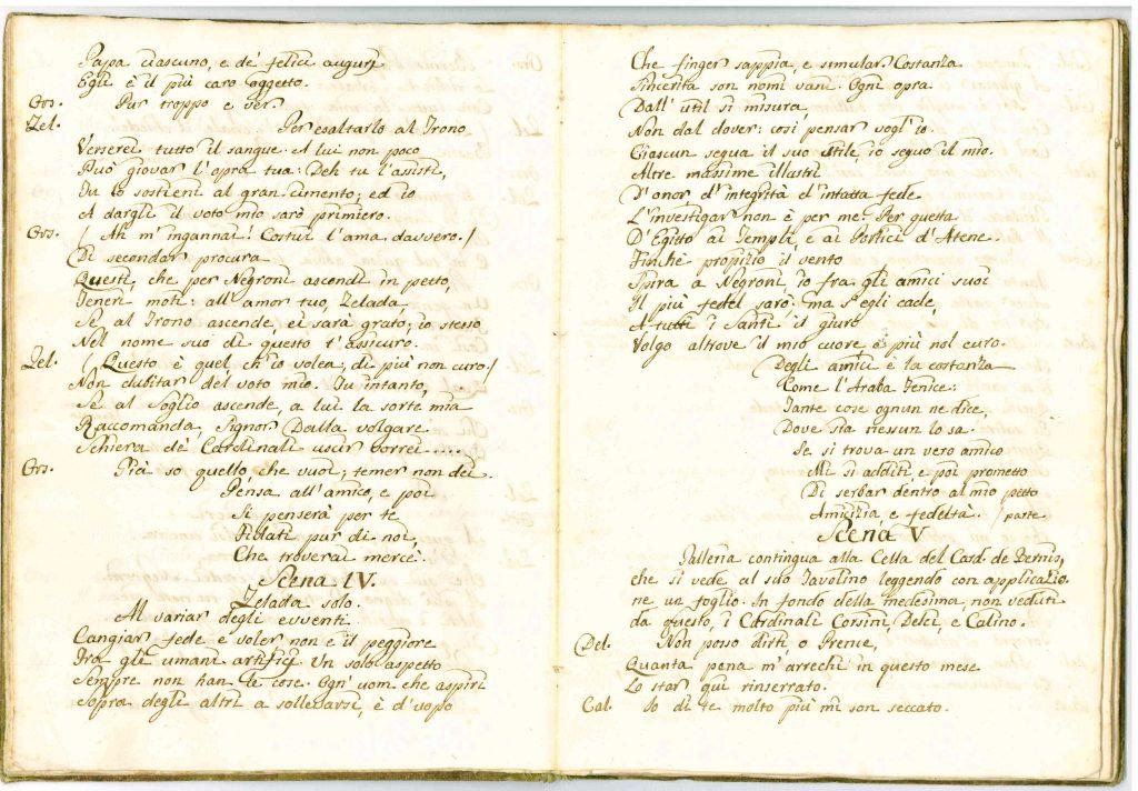 Il Conclave Dramma Satirico pag6 - 1776