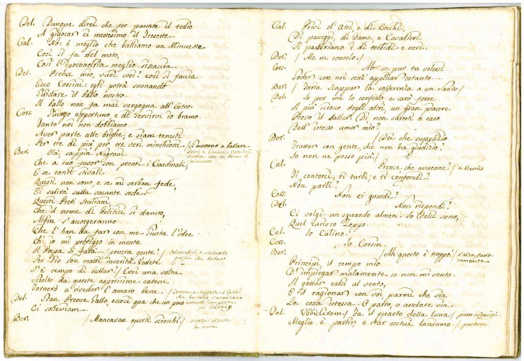 Il Conclave Dramma Satirico pag7 - 1776